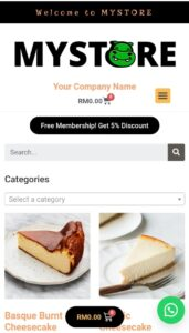 Store page